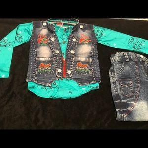 Jackets & Coats - 3 piece suit , Jacket, shirt and jeans